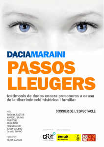 DOSSIER PASSOS LLEUGERS