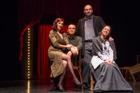 CRIT Companyia de Teatre El dia que Bertolt Brecht va morir a Finlàndia FOTO MIGUEL LORENZO