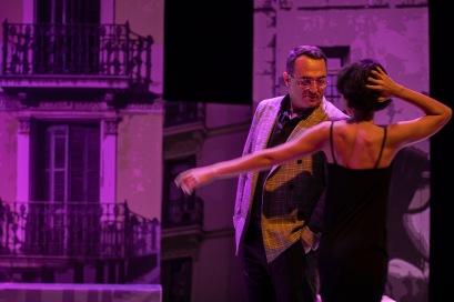 Estreno del nuevo espectáculo de Crit Teatre, La Ciudad de Escarcha, basado en la novela Entre Visillos de Carmen Martín Gaite. Fotografías ©Miguel Lorenzo